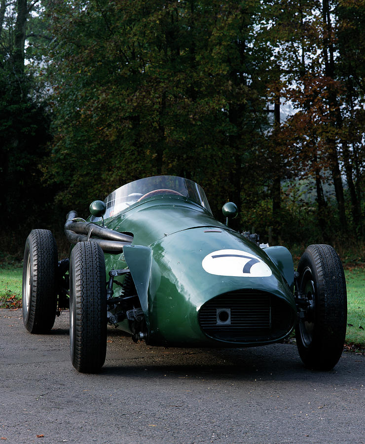 1955 Connaught B Type Racing Car Photograph by Heritage Images