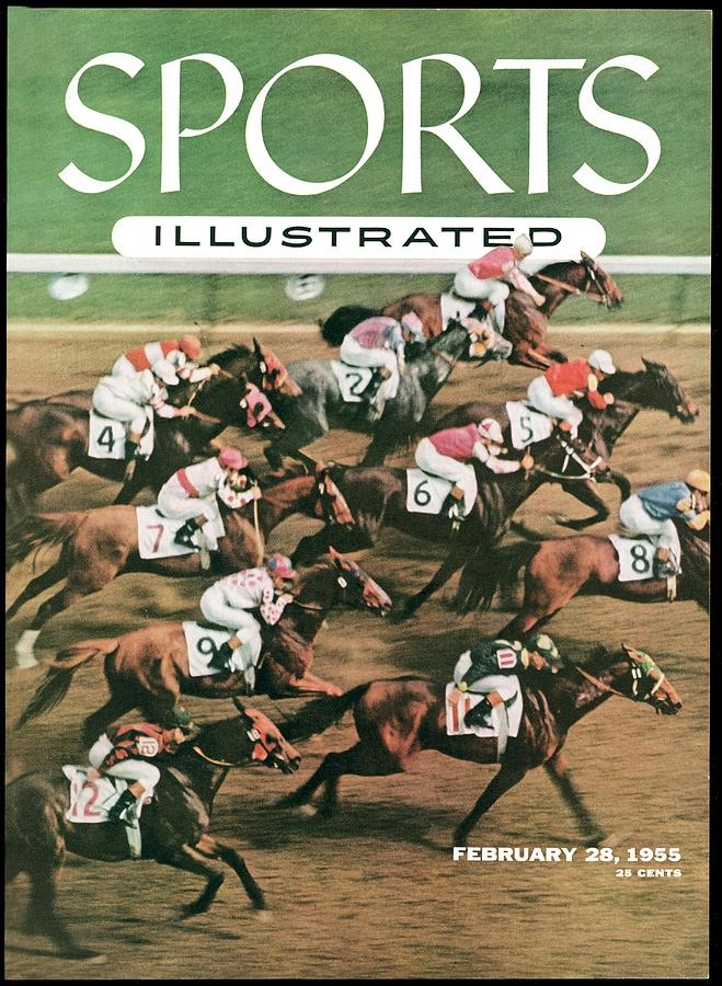 1955 Flamingo Stakes Sports Illustrated Cover Photograph by Sports Illustrated
