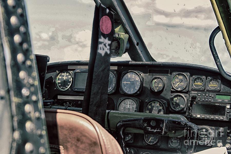 1955 Photograph - 1955 Flight Deck  by Steven Digman