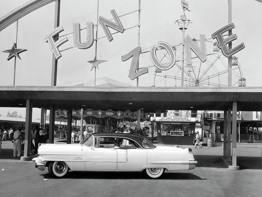 1956 Cadillac Sedan, Usa, C1956 Photograph by Heritage Images