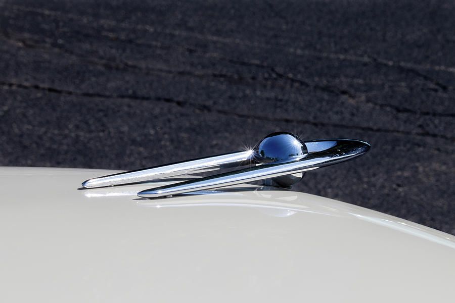 1956 Clipper Custom Touring Sedan Hood Ornament by Lauri Novak