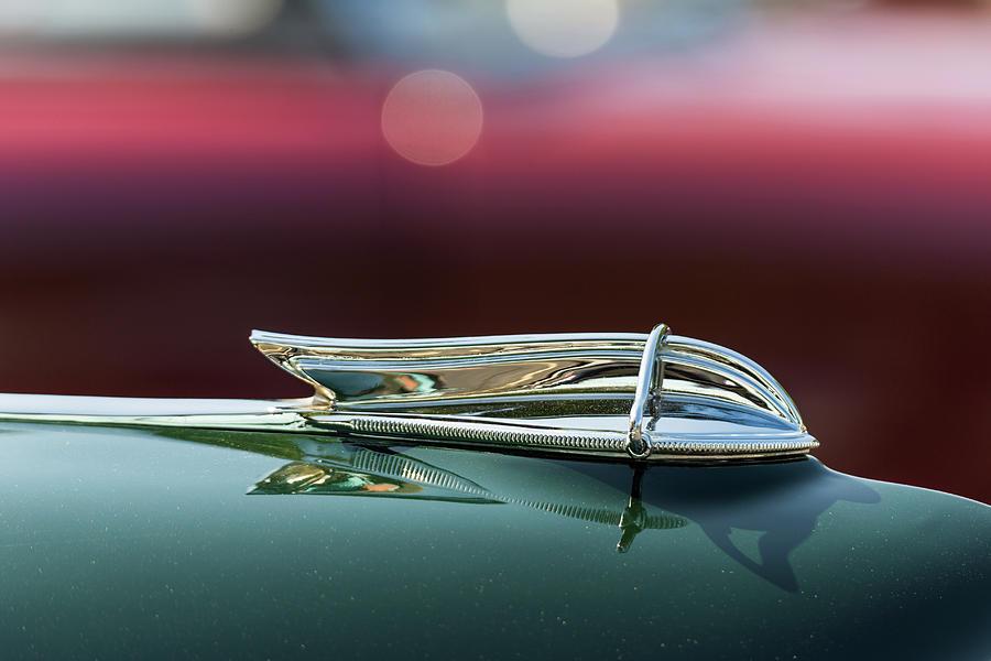 1956 Clipper Deluxe Town Sedan Hood Ornament by Lauri Novak