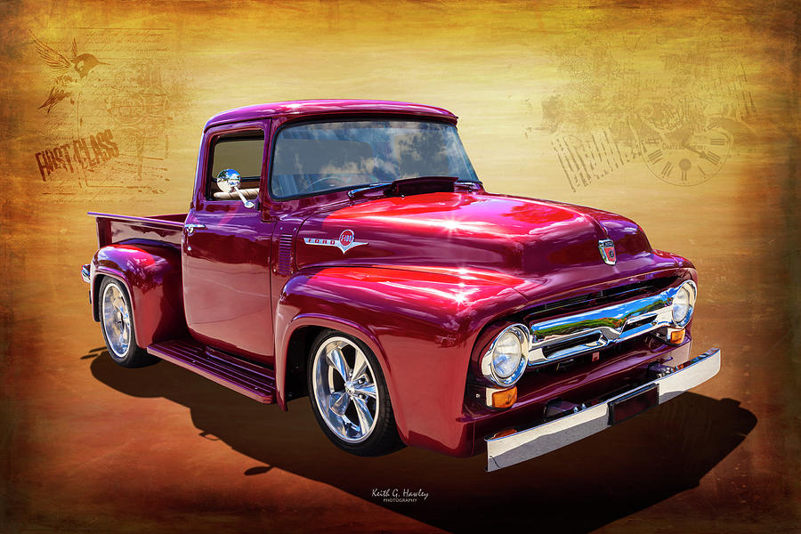 1956 Eff Truck by Keith Hawley