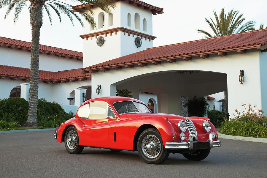 1956 Jaguar Xk140 1956 Photograph by Car Culture