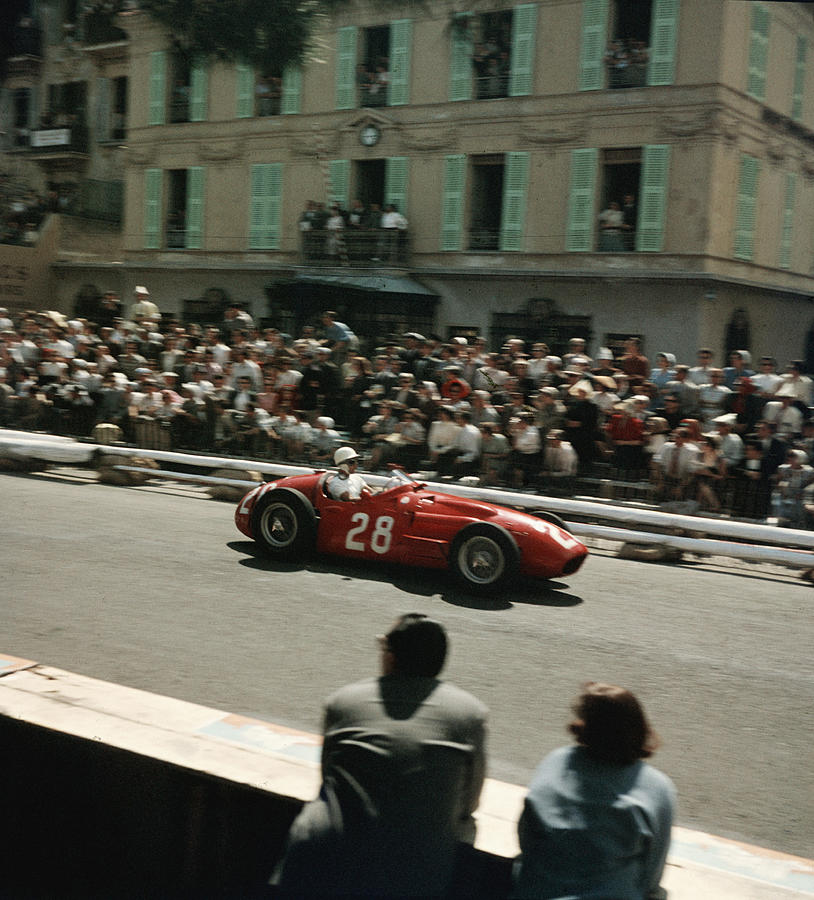 1956 Monaco Grand Prix Photograph by Thomas D. Mcavoy