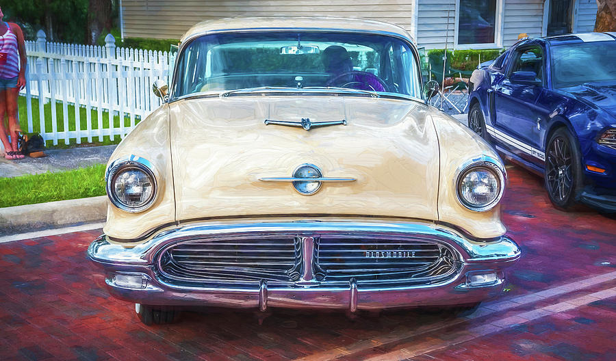 1956 Oldsmobile Super 88 Coupe 105 by Rich Franco