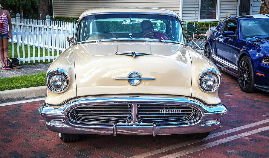 1956 Oldsmobile Super 88 Coupe 107 by Rich Franco