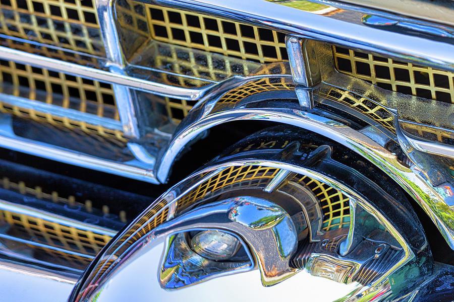 1956 Packard 400 Chrome by Lauri Novak