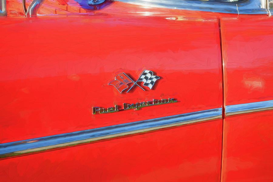 1957 Chevrolet Bel Air 283 Fuel Injected 107 by Rich Franco
