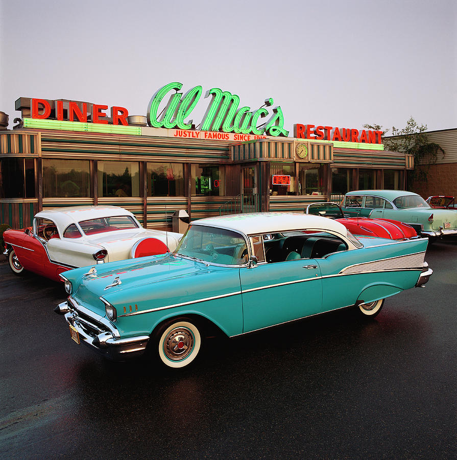 1957 Chevrolet Bel Air Sports Coupe Photograph by Car Culture