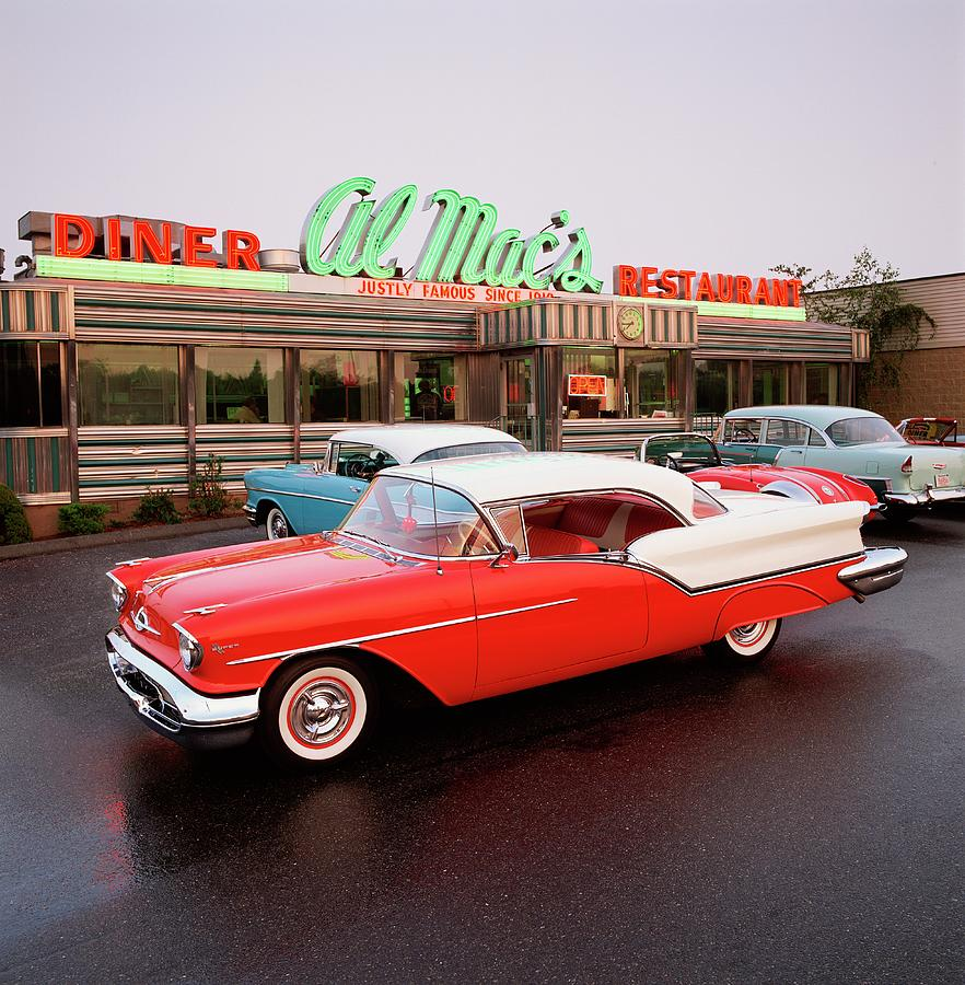 1957 Oldsmobile Super 88 Holiday Coupe By Car Culture
