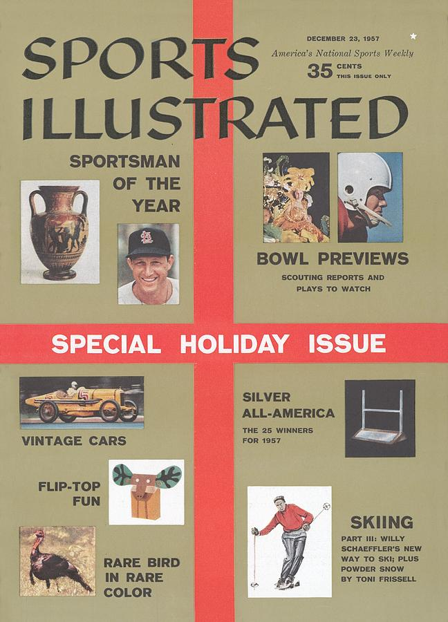 1957 Special Holiday Issue Sports Illustrated Cover Photograph by Sports Illustrated