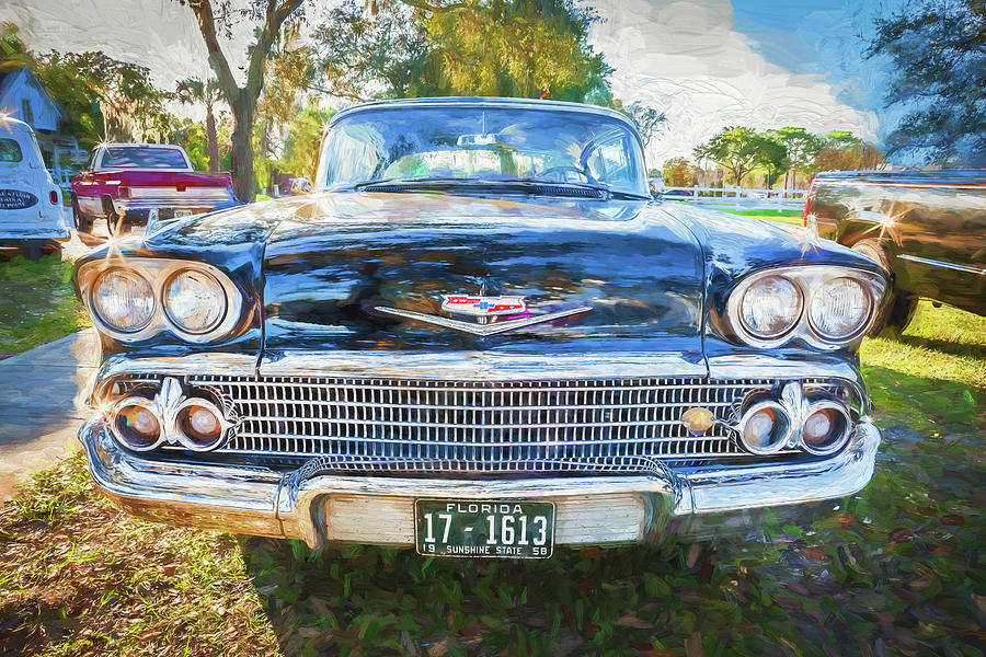 1958 Chevrolet Bel Air Impala 202 by Rich Franco