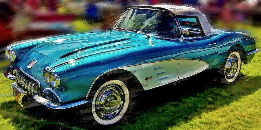 1958 Chevrolet Corvette by David Manlove