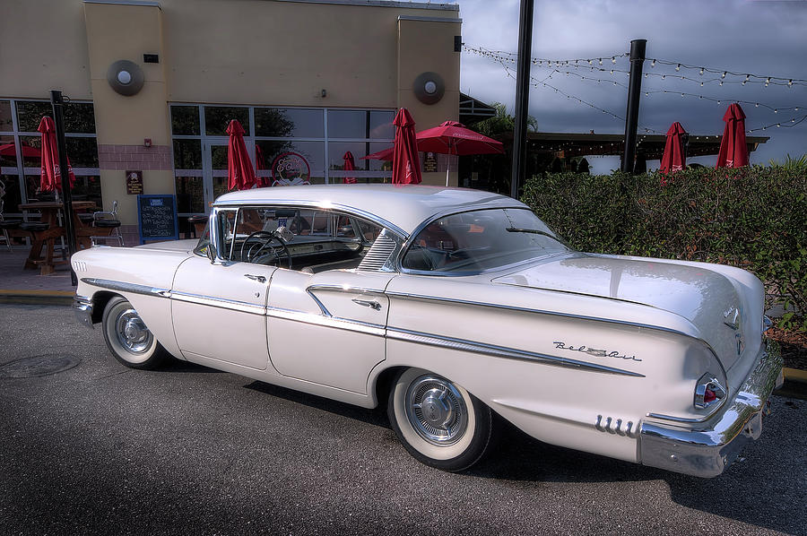 1958 Chevy Bel Air Photograph