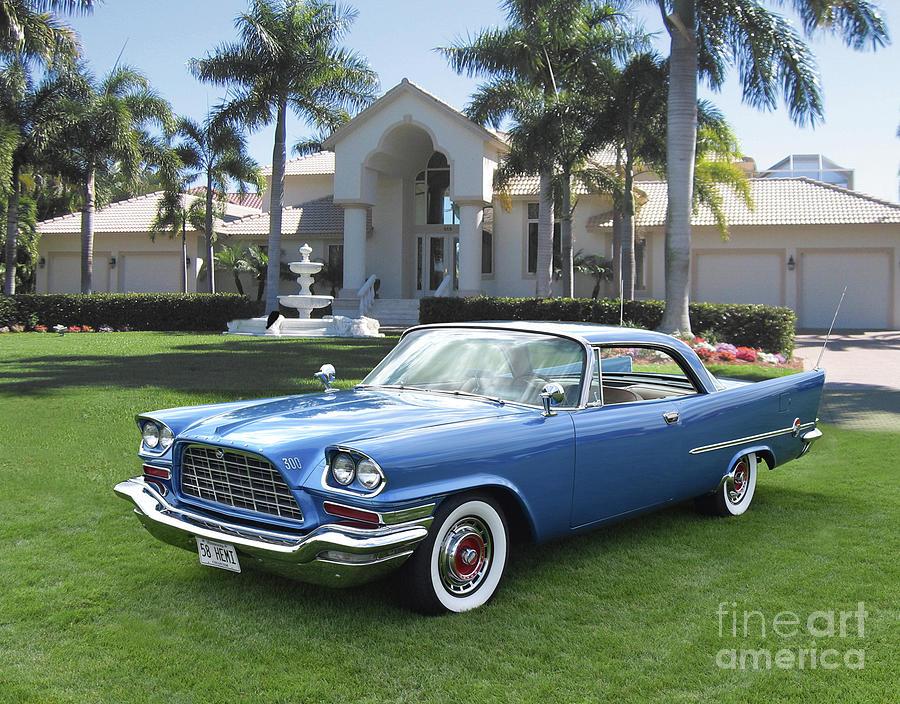 1958 Chrysler 300d Photograph