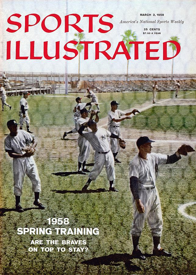 1958 Spring Training Sports Illustrated Cover Photograph by Sports Illustrated