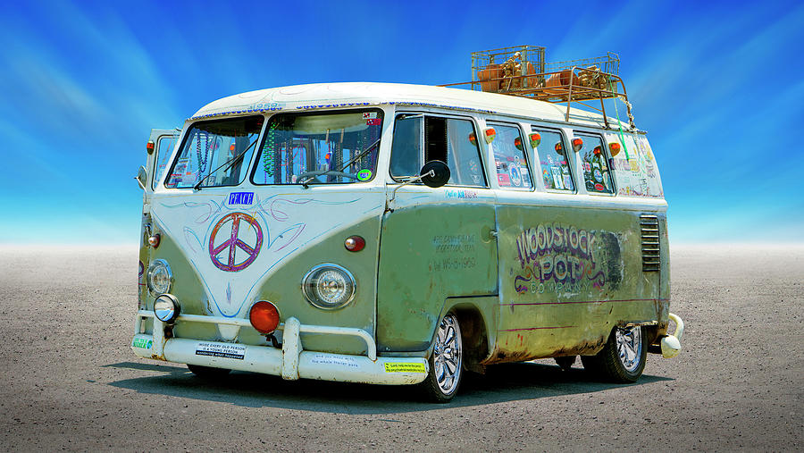 1959 V W Bus by Mike McGlothlen
