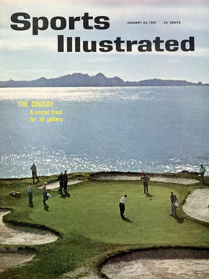1960 Bing Crosby National Pro Am Sports Illustrated Cover Photograph by Sports Illustrated
