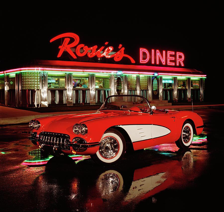 1960 Chevrolet Corvette Convertible Photograph by Car Culture