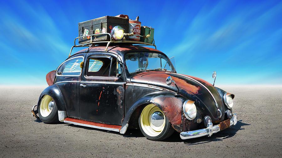 1960 V W Bug Rat Rod by Mike McGlothlen