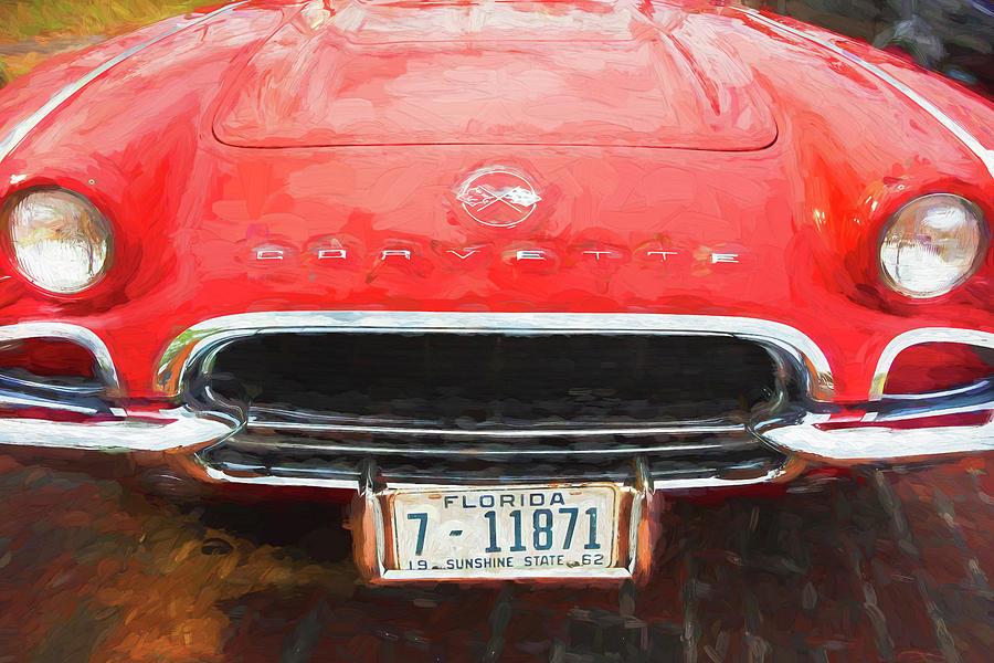 1962 Chevrolet Corvette 200  by Rich Franco