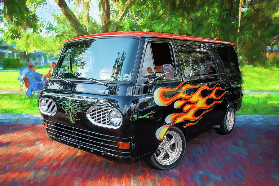 1962 Ford Econoline Van 205 by Rich Franco