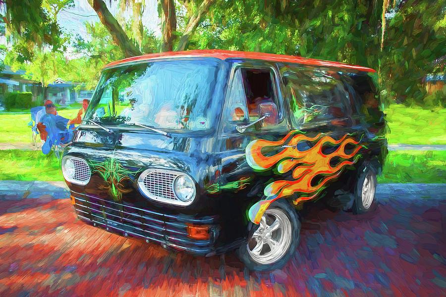 1962 Ford Econoline Van 211 by Rich Franco