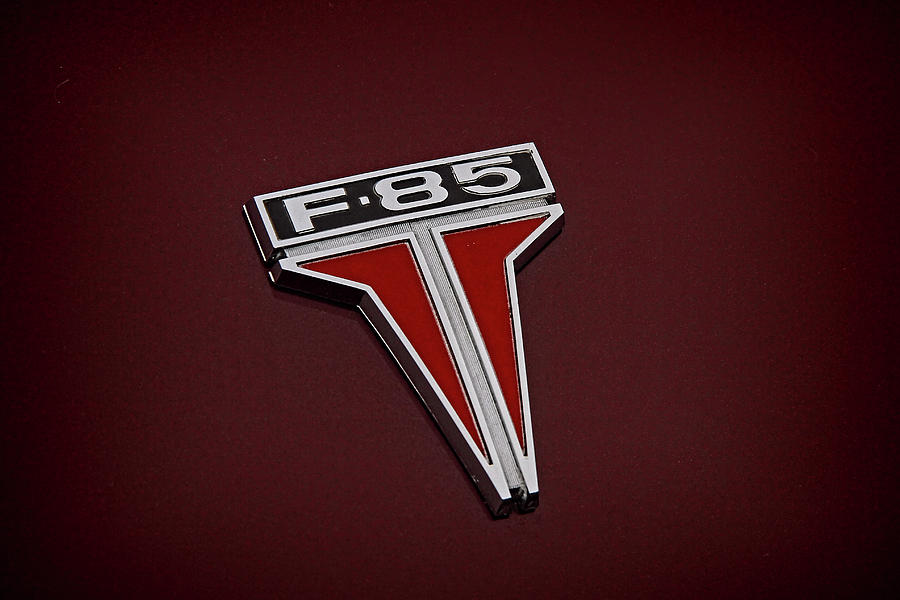 1962 Oldsmobile F85 Emblem And Logo by Nick Gray