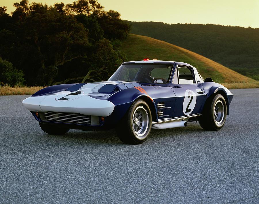 1963 Chevrolet Corvette Grand Sport Photograph by Car Culture