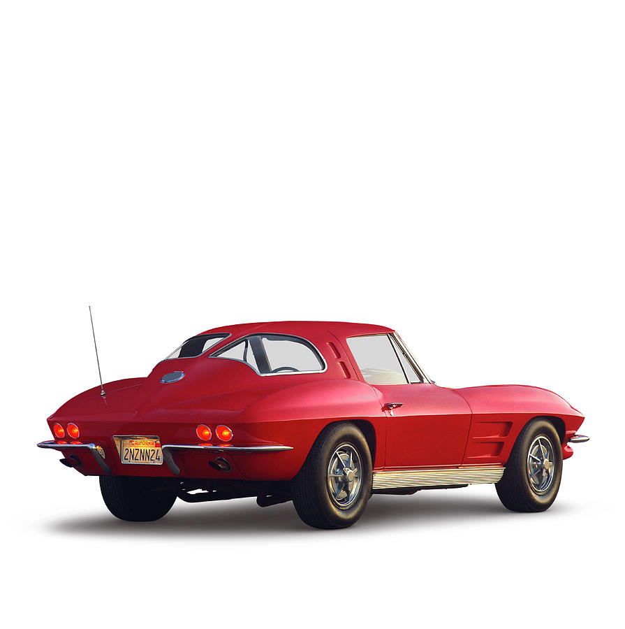 1963 Chevrolet Corvette Stingray Coupe Photograph by Car Culture