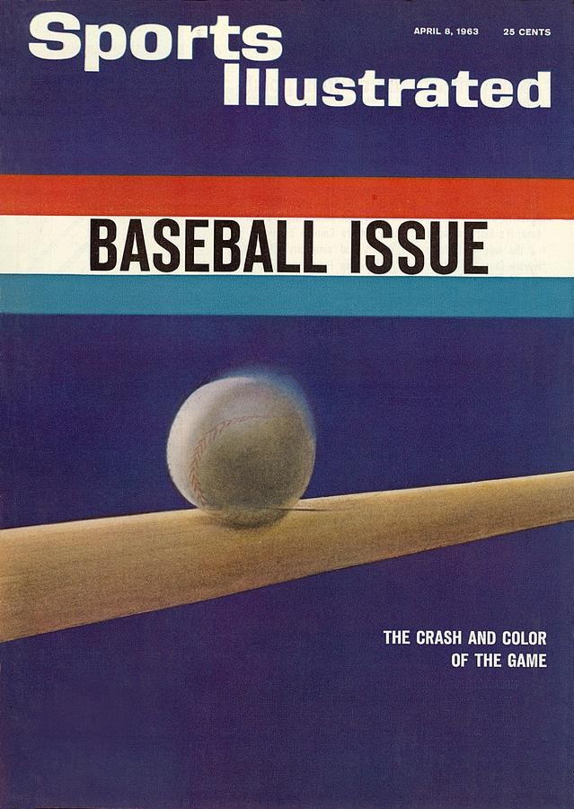1963 Mlb Baseball Preview Sports Illustrated Cover Photograph by Sports Illustrated
