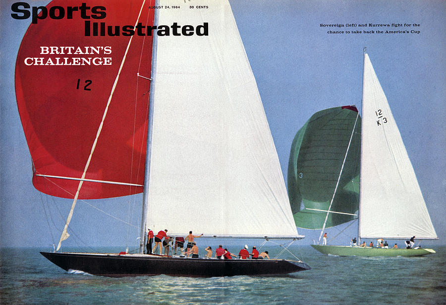 1964 Americas Cup Preview Sports Illustrated Cover Photograph by Sports Illustrated