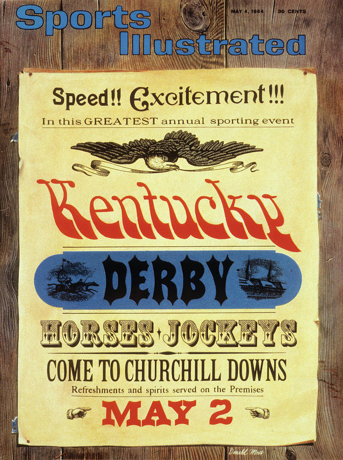 1964 Kentucky Derby Preview Issue Sports Illustrated Cover Photograph by Sports Illustrated