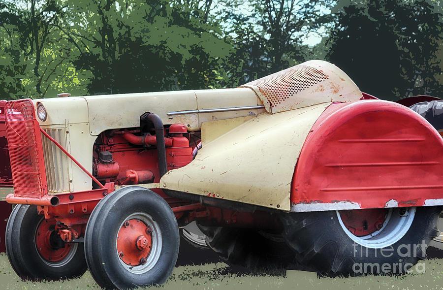 Tractors Photograph - 1964 Sci-Fi Roadster  by Steven Digman