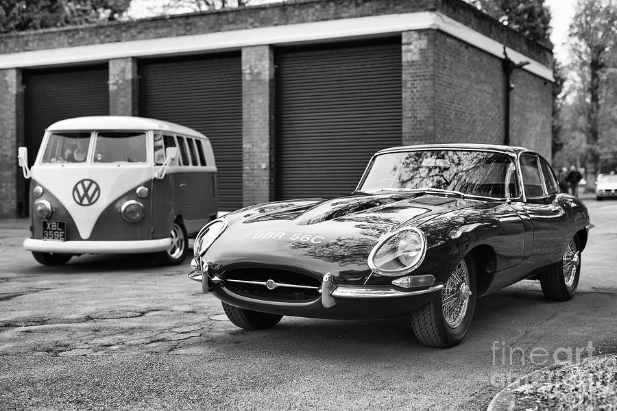 1965 Jaguar E Type at Bicester Heritage Oxfordshire by Tim Gainey