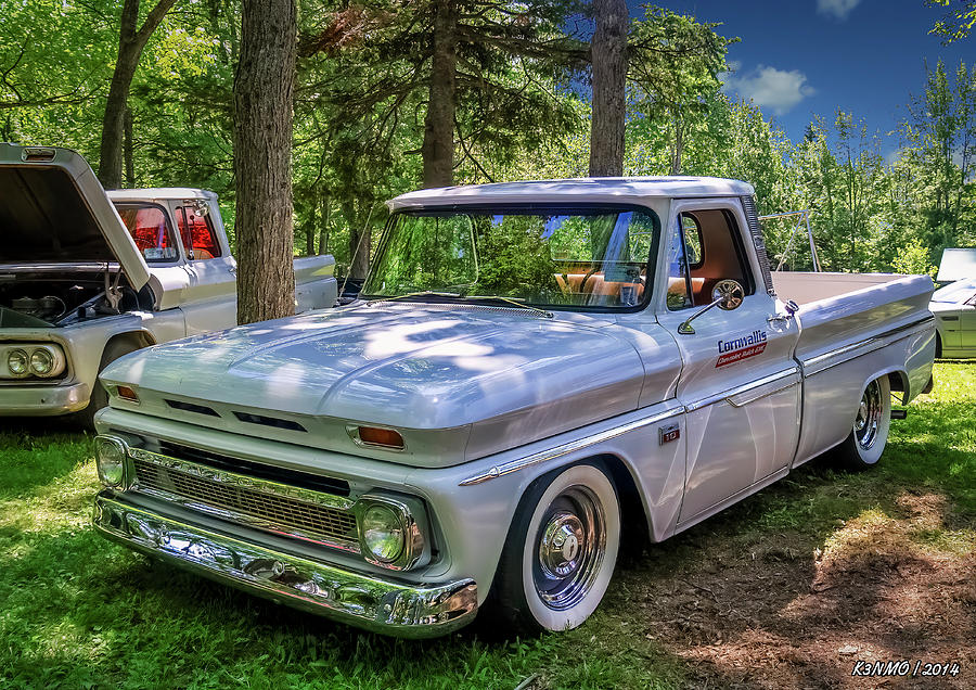 1966 Digital Art - 1966 Chevrolet C10 Pickup Truck by Ken Morris