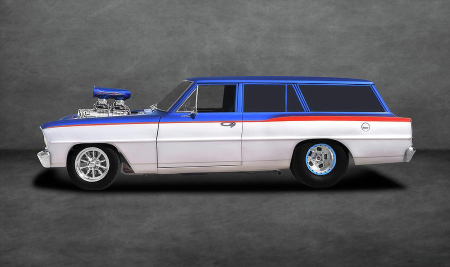 1966 Chevrolet Chevy Ii Nova Station Wagon