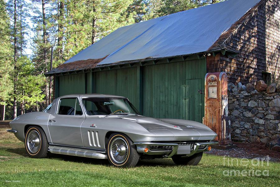 1966 Corvette Stingray 427 by Dave Koontz