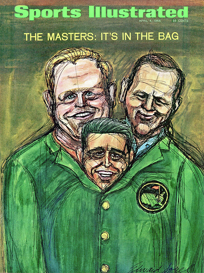 1966 Masters Tournament Preview Sports Illustrated Cover Photograph by Sports Illustrated