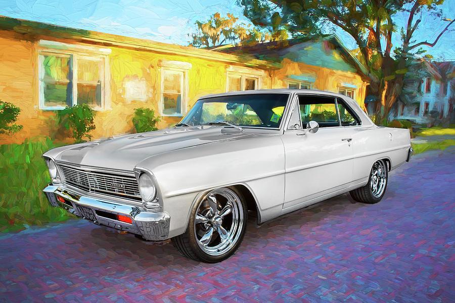 1966 Chevrolet Nova Super Sport 006 By Rich Franco