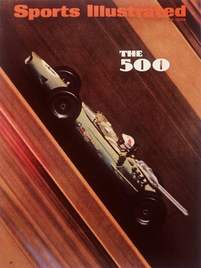 1967 Indy 500 Qualifying Sports Illustrated Cover Photograph by Sports Illustrated