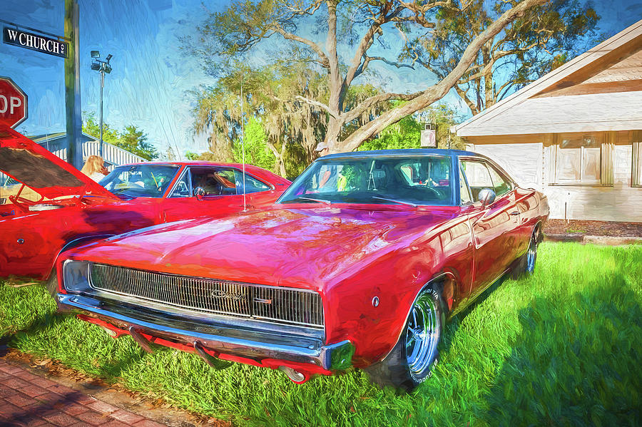 1968 Dodge Charger the Bullit Car 106 by Rich Franco