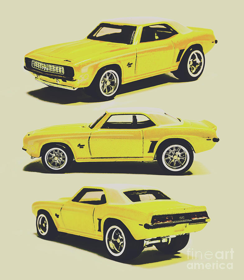Camaro Photograph - 1969 Camaro by Jorgo Photography - Wall Art Gallery