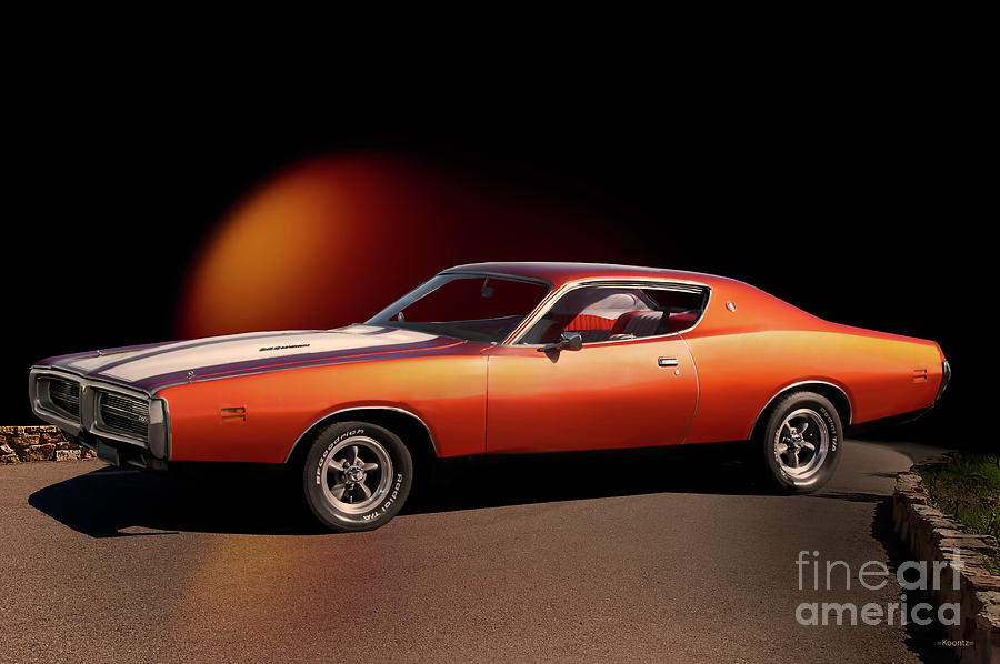 1969 Dodge Charger Rt 383 Photograph By Dave Koontz