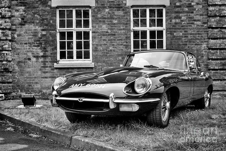 1969 Photograph - 1969 Jaguar E Type 1969 by Tim Gainey