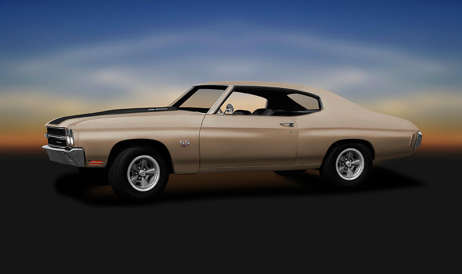 1970 Photograph - 1970 Chevrolet Chevelle Ss 454  -  1970chevelless454sportcoupe196911 by Frank J Benz
