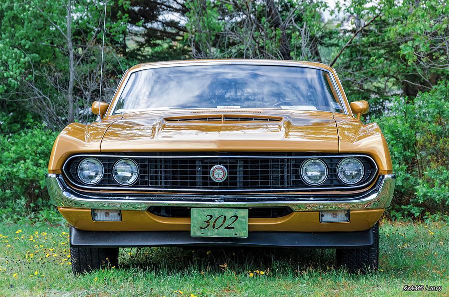 1970 Photograph - 1970 Ford Torino Gt by Ken Morris
