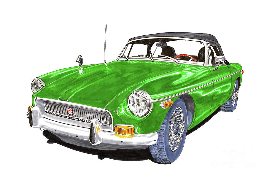 1970 M G B  Roadster by Jack Pumphrey