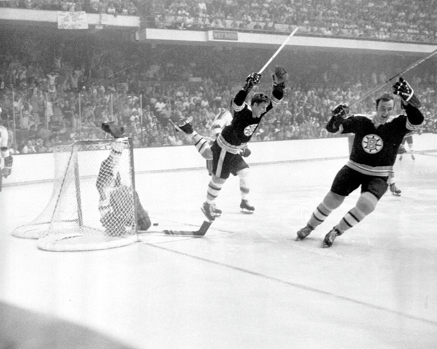 1970 Stanley Cup Finals - Game 4 St Photograph by B Bennett